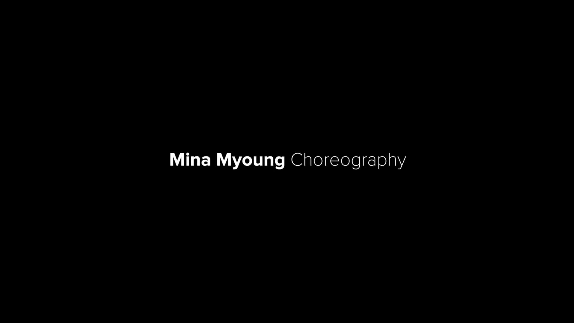 【1M】MinaMyoung编舞JustStay..